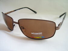 POLAROID SUNGLASSES AVIATOR METALLIC BROWN POLARISED X4408C PDI 0X BNWT GENUINE