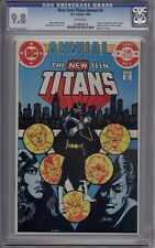 New Teen Titans Annual (Vol. 1) #2 - CGC Graded 9.8 - 1st Vigilante
