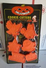 Good Cook Halloween Cookie Cutters 6 Piece Owl Devil Ghost Pupmkin
