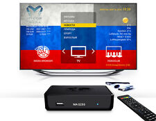 Russische TV ohne ABO MAG 250 IPTV SET TOP BOX Internet TV AURA HD + WIFI Stick
