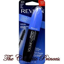 Revlon VOLUME + LENGTH MAGNIFIED Mascara, BLACKEST BLACK 301 Washable