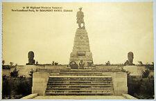 Postcard c. 1920's - 51st Highland Division Memorial - Hamel - Somme - France