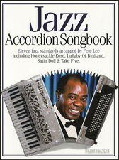 Jazz Accordion Songbook Sheet Music Book