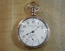 Rare 16s Non Magnetic Watch Co. Fahys Gold Filled Pocket Watch Paillard Pat.!