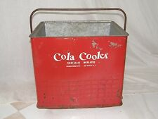 1950's VINTAGE POLORON COLA COOLER FIBERGLASS INSULATED NEW ROCHELLE NY