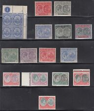 St. Kitts-Nevis mixed hinged and NH- Scott 17 // 88 (#28 thin) - CV $84.00