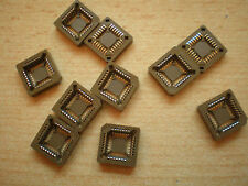 PLCC IC socket 28pin made by Amp 10pcs £5.00 Item 2342