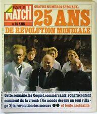 Paris Match No. 1298 - 25 ans de revolution world