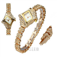 Watch Women's Fashion Luxury Quartz Rhinestone Crystal Ladies'  WristWatch