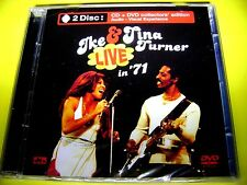 IKE & TINA TURNER - THE LEGENDS LIVE IN 71 | CD + DVD COLLECTORS EDITION | OVP