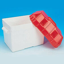 PLASTIC  BATTERY BOX WITH LID AND STRAP , CAMPER, MOTOR HOME, CARAVAN, BOAT