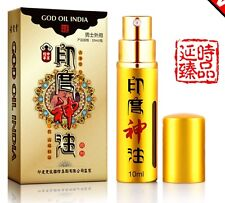 4 bottles 10ml x 4 INDIAN Oil Spray Male delay sex PENIS Longer Stronger Harder