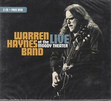 Warren Haynes-Live At The Moody teatro 2011 (2 CD + DVD) Nuovo