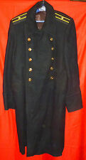Russian Soviet NAVY Senior Officer Winter Uniform Great Coat Overcoat Size 52 M