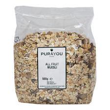 Purayou All Fruit Muesli 500g - Free UK Shipping