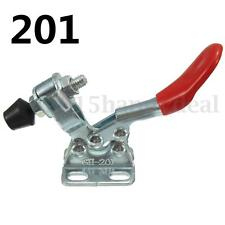 2pcs 27Kg Holding Capacity Toggle Fast Clamp Horizontal Quick Release Hand Tool