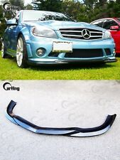 CARKING 08-11 CARBON MERCEDES BENZ W204 C63 AMG GH style FRONT LIP SPLITTER