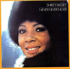 *NEW* CD Album Shirley Bassey - Never, Never, Never (Mini LP Style Card Case)