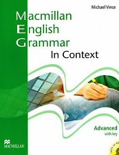 Macmillan ENGLISH GRAMMAR IN CONTEXT Advanced with Key+ CD-ROM Michael Vince NEW