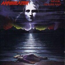 Never, Neverland by Annihilator (CD, Feb-1996, Roadrunner)