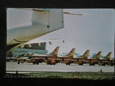 POSTCARD AIR R.C.A.F DAY IN CANADA - FAMOUS GOLDEN HAWKS LINE UO