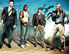 Sharlto COPLEY SIGNED 10x8 Photo AFTAL Autograph COA Howling Mad MURDOCK A-Team