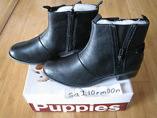 Hush Puppies Chamber Ankle Boot Weatherproof Black sz 9 US zip BNWT brand new