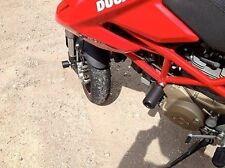 Ducati HYPERMOTARD 796 10 11 12 13 TAMPONI PARAMOTORE BOBINE SCORREVOLI A TAPPO
