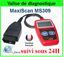 AUTEL MaxiScan MS309 VOITURE SCANNER VALISE DIAGNOSTIQUE OBD OBD2 / Multimarque
