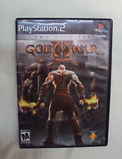 Sony Playstation 2  PS2 GOD OF WAR Action Adventure VIDEO GAME Two Disc Set