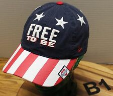 """KIMBALL RANCH HEBER UTAH """"FREE TO BE"""" HAT RED, WHITE AND BLUE STARS & STRIPES"""