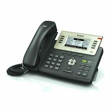 Yealink SIP-T27P 6 SIP Line Enterprise HD VoIP IP Phone LCD PoE w/ Power Adapter