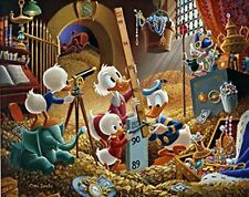 CARL BARKS ART - UNCLE SCROOGE - AN EMBARRASSMENT OF RICHES - FRAMED - LTD 395