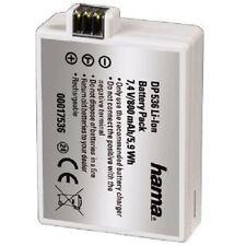 Hama Li-Ion Batterie DP 536 pour Canon, remplacement pour lp-e5, 17536