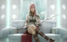 POSTER FINAL FANTASY 13 XIII LIGHTING SNOW VERSUS #8