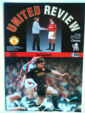 MINT 1993/94 Manchester United v Chelsea Premier League