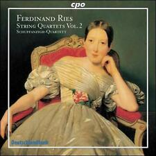 Ferdinand Ries: String Quartets, Vol. 2, New Music