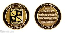 "ARMY CADET COMMAND CREED LEADERSHIP EXCELLENCE MISSION ROTC 1.75"" CHALLENGE COIN"