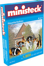 Ministeck Pixel Puzzle (31330): Baby Pets (4in1) 1800 pieces
