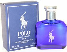 POLO BLUE by RALPH LAUREN EAU DE TOILETTE 75ML, NUOVO