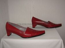 Escarpins Jean Paul Barriol cuir rouge 39/40
