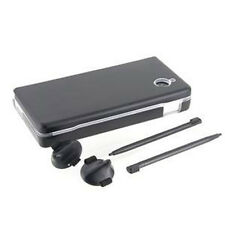 Nintendo DSi NDSi Black Protection Kit Luxury Metal Bundle w/ Extra Accessories