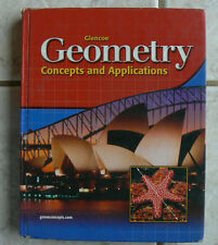 Glencoe GEOMETRY Concepts and Applications, 2004 Clean HB