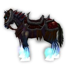 World of Warcraft WoW Mount Reins Of The Crimson DeathCharger All EU Servers