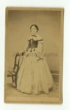 19th Century Fashion - 1800s Carte-de-visite Photograph - King of Waterbury, Ct