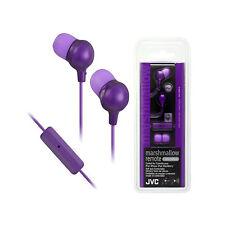 JVC HA-FR36 In-Ear Stereo Earphones/Headphones With Microphone(Violet)