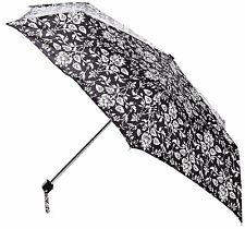 Fulton Ladies Compact Flat Umbrella Floral