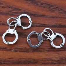30pcs Bulk Antiqued Sliver Tone Alloy Handcuff Charms 31mm Pendants Fit Necklace