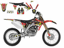 BLACKBIRD HONDA CRF 250 2004-2009 KIT GRAFICHE COMPLETO ARMA ENERGY GRAPHICS