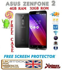NEW 4G LTE GREY ASUS Z2 ZENFONE 2 ZE551ML ANDROID DUALSIM 4GB 32gb sbloccato UK